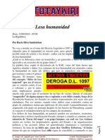 Discusion sobre el Decreto Legislativo 1097.