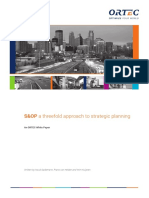 ORTEC Whitepaper SOP a Threefold Approach to Strategic Planning En