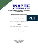 Análisis de Casos Frito Lay, HRC, National Air LISETTE GUZMAN