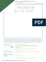 El Secreto de la Luz_ LA DIETA DEL PERDON (sólo dura 7 dias, animate !!!).pdf