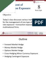 Week 8_transaction Exposure