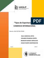 Comercio Internacional - Exportaciones