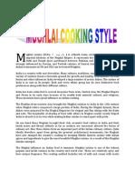 Mughlai Cooking Style(1)