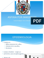 Asfixia Por Inmersion