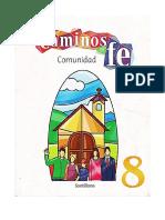8 Grado - Caminos de Fe - Comunidad
