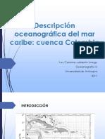 Descripción Oceanográfica Del Mar Caribe