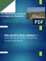 02 Caminos No Pavimentados de Bajo Volumen de Transito