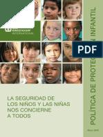 10 Política - Proteccion Infantil