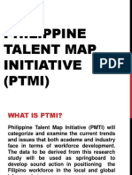 Philippine Talent Map Initiative Ptmi