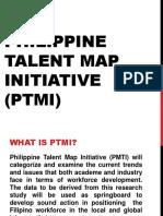 Philippine Talent Map Initiative Ptmi