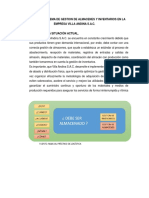 Diseño de Un Sistema de Gestion de Almacenes y Inventarios en La Empresa Villa Andina s