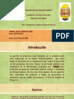 Tecnologias y Diseño Para La Gestion de Proyectos