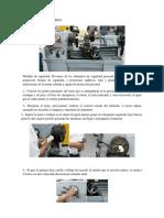 Uso y Manejo Del Torno y La Fresadora