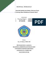 METLIT Proposal Penelitian BAB 1-4