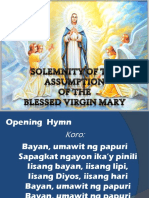 MASS - Assumption of the BVM 2014