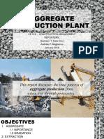 Aggregate Crushing Plant