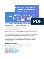 101 Best Leadership Skills