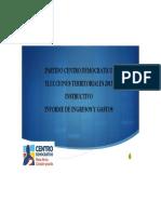 Instructivo Centro Democratico Ingresos y Gastos