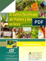 Manual El Cultivo de Platano y Banano Tecnifi Cado en Selva Perú
