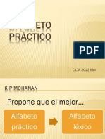 Alfabeto Práctico - Alfabeto Léxico