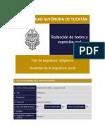 Pg Redacción de Textos y Expresión Oral