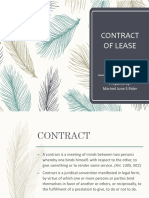 Contract of Lease - Paler