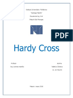 Hardy Cross Trabajo Estructura