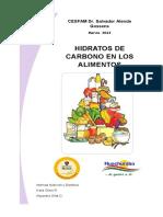 Pauta Carbohidratos