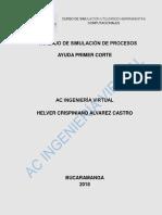 Trabajo Ayuda Parcial 1 Corte