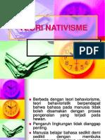 03. TEORI NATIVISME