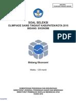 OSK 2018 Ekonomi (Soal)