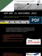 Nom-005 15 Noviembre 2016