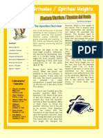 Bulletin for Sept. 5, 2010