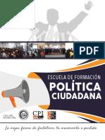 Escuela de formación política