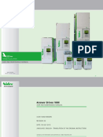 Nidec - AD1000 User-Maintenance Manual