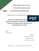 Diseño de Un Programa de Intervención Dirigido a Promover La Cohesión Grupal