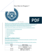 NUST Entrance Test | University And College Admission | Test