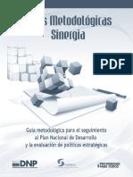 Guia Metodologica Sinergia DNP