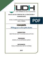 Monografìa Liderazgo