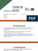 Cotizacion preios materiales