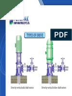 Deepwell Turbine Types of Drive 1