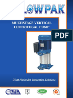 Multistage Vertical Centrifugal Pump(Leaflet)