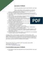 Características que posee el debate.docx