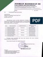 Pemberitahuan Hasil Survei Ujicoba Provinsi Jawa Timur Tgl. 7 Juli 2015