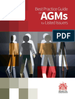 Best Practice Guide on AGMs for Listed Issuers