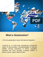 Globalization and its impact