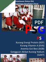 PSG (Penjaringan UKS)