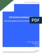 SAP Business Intelligence Whitepaper