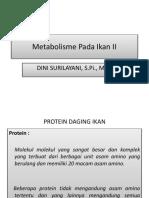 Pertemuan 10 Metabolisme Ikan II