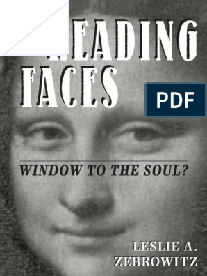 Reading Faces pdf | Perception